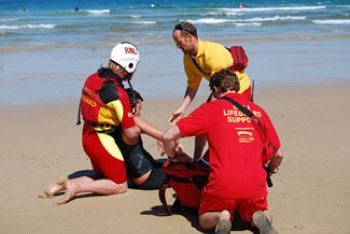 Lifeguarding Perranporth