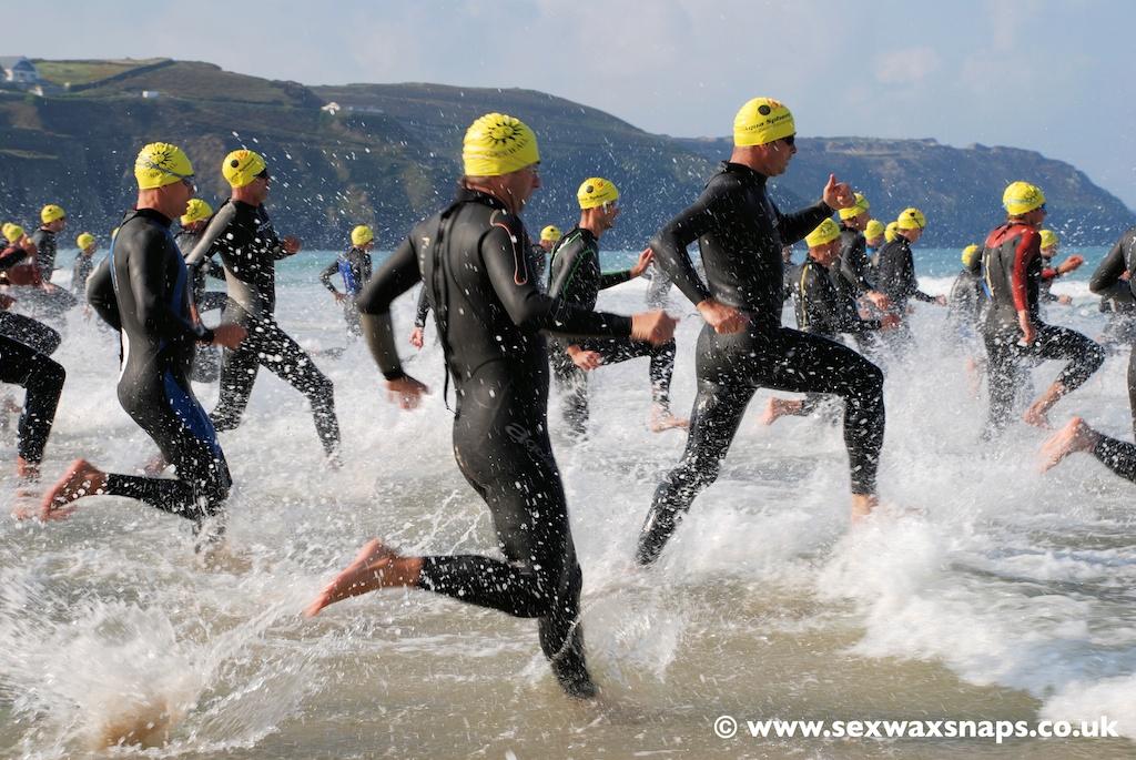 Perranporth Surf Challenge Triathlon