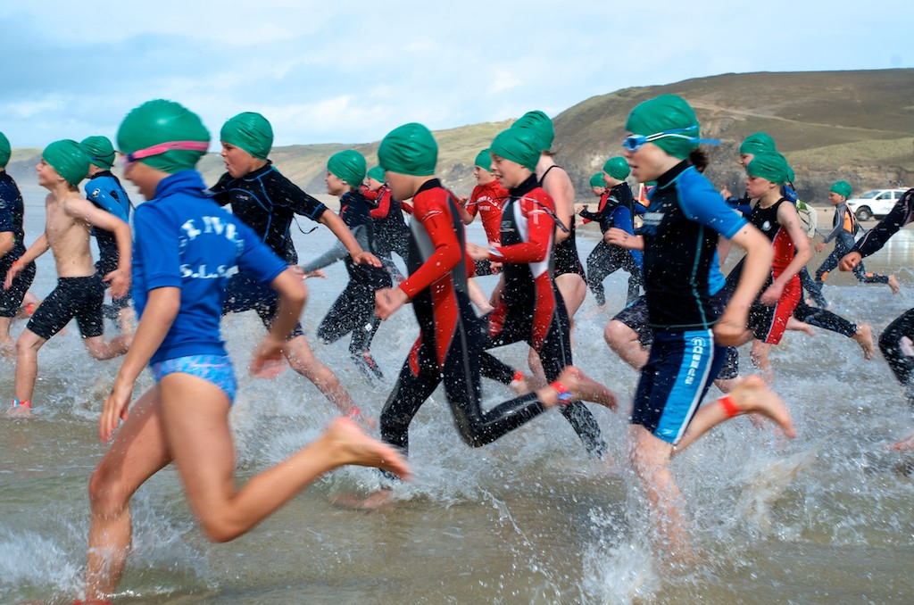 Perranporth Youth Aquathon