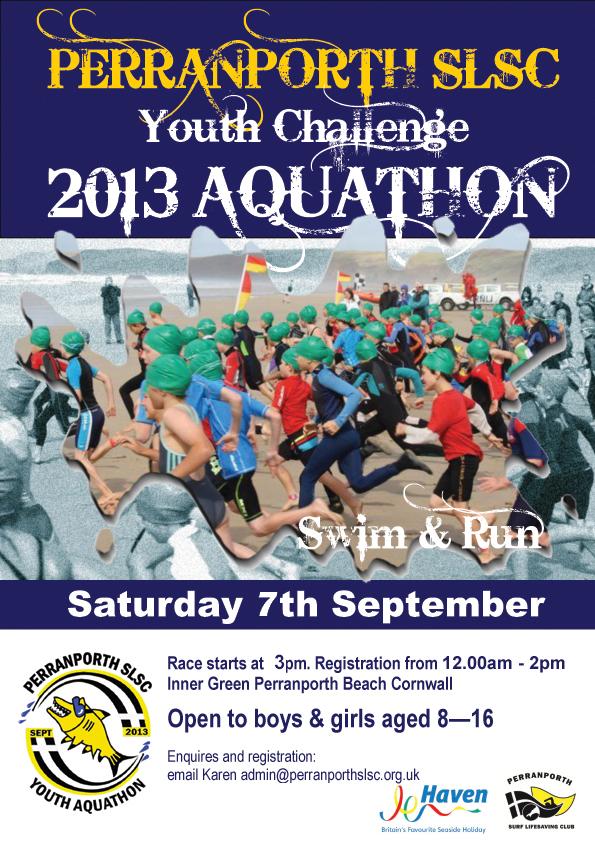Youth Challenge Aquathon 2013