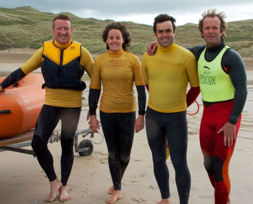Perranporth Surf Lifesaving Club Surf patrol Volunteers